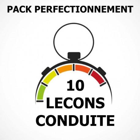 PACK Perfectionnement 10 Leçons