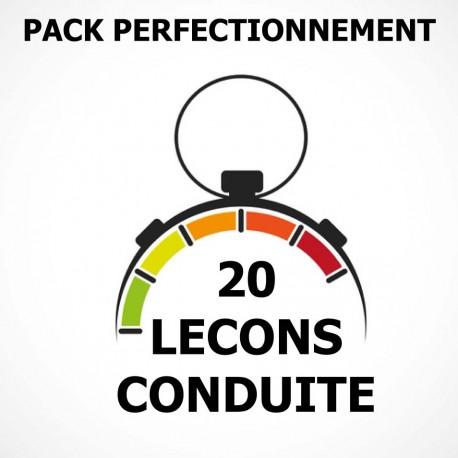 PACK Perfectionnement 15 Leçons
