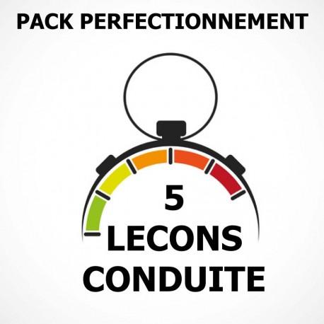 PACK Perfectionnement 5 Leçons