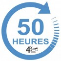Forfait 50 heures : 2400€