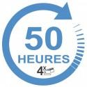 Forfait 50 heures Boîte Manuelle
