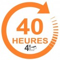 Forfait 40 heures : 1980€