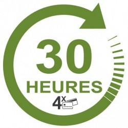 Forfait 40 heures en 4 fois sans frais