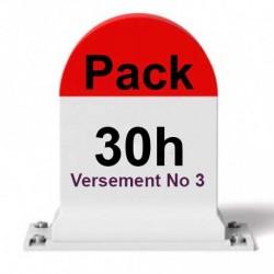 PACK 30 heures de conduite (Versement 3/3)