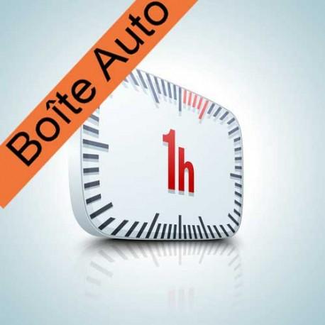 Heure(s) de conduite Boîte automatique