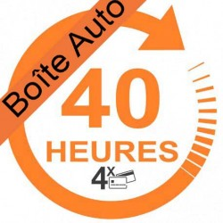 Forfait 40 heures (payable en 4 X)