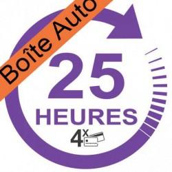 Forfait 25 heures Boîte Automatique