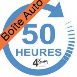 Forfait 30 heures Boîte Automatique (payable en 4 X)