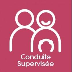 Forfait CS Conduite Supervisée : 1470 € (payable en 3 X 490 €)