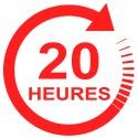 Forfait 20 heures : 1140 € (payable en 3 X 380 €)