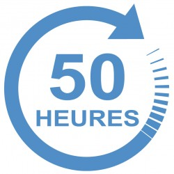 Forfait 50 heures : 2400 € (payable en 4 X 600 €)