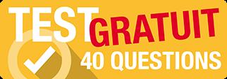 test en ligne de 40 questions