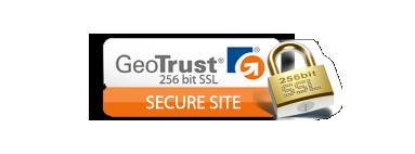 Geotrust pour un site sécurisé 256 bit SSL